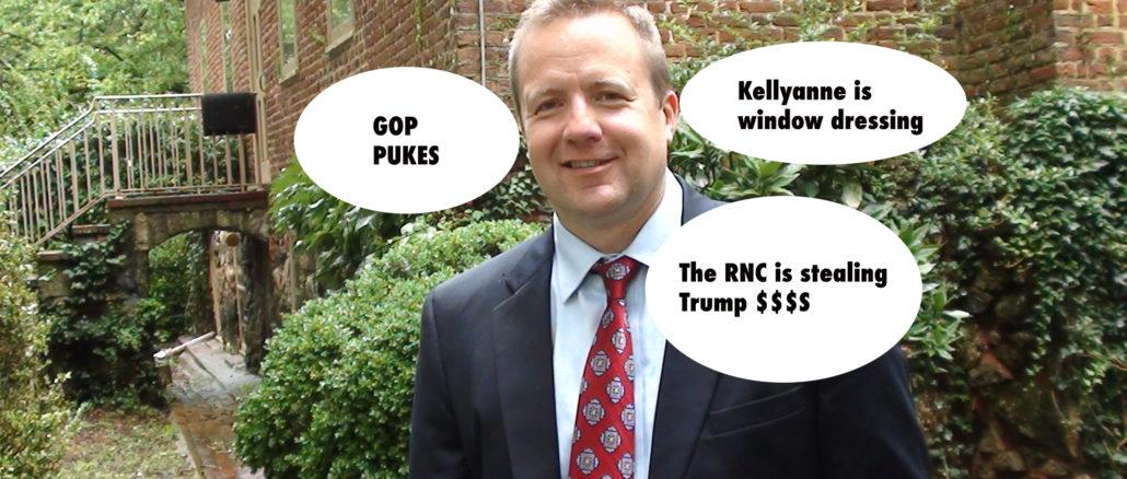 Corey Stewart loves to trash his GOP compatriots